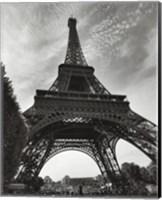 Framed La Tour Eiffel, Paris - under