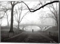 Framed Gothic Bridge, Cental Park, NYC