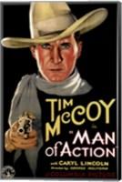 Framed Man of Action