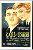 Framed It Happened One Night Gable And Colbert