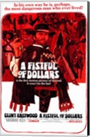 Framed Fistful of Dollars  a