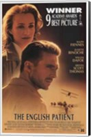 Framed English Patient