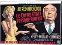 Framed Dial M for Murder - wide