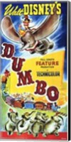 Framed Dumbo Walt Disney