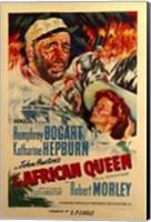 Framed African Queen Robert Morley