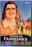 Framed Three Musketeers - Douglas Fairbanks