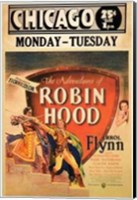 Framed Adventures of Robin Hood Chicago