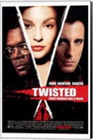 Framed Twisted movie poster