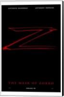 Framed Mask of Zorro Movie