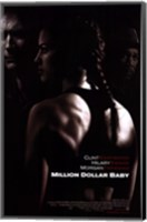 Framed Million Dollar Baby