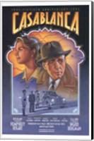 Framed Casablanca Art Deco