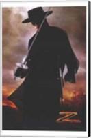 Framed Legend of Zorro