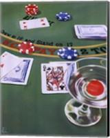 Framed Blackjack
