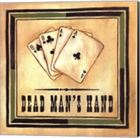 Framed Dead Man's Hand