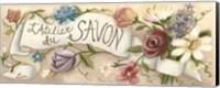 Framed L'Atelier du Savon