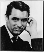 Framed Cary Grant Black and White