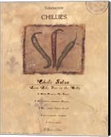 Framed Chili Salsa
