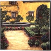 Framed Jardin Toscana