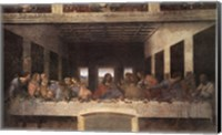 Framed Last Supper, c.1498 (post-restoration)