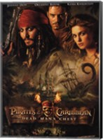 Framed Pirates of the Caribbean: Dead Man's Chest