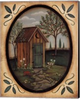 Framed His Outhouse