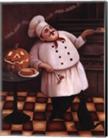 Framed Halloween Chef I
