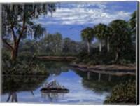 Framed Florida Wetlands