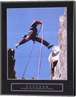 Framed Success - Rock Jumper