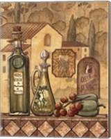 Framed Flavors Of Tuscany III - Mini