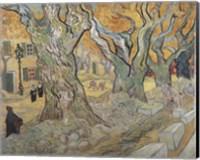 Framed Road Menders, c.1889