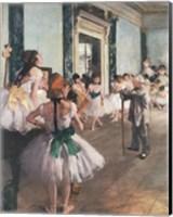 Framed Dance Class