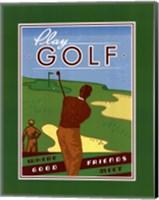 Framed Play Golf