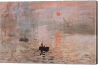 Framed Impression, Sunrise, c.1872 (green)