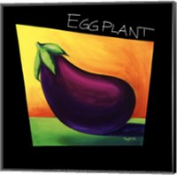 Framed Eggplant - mini