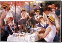 Framed Luncheon of the Boating Party