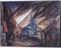 Framed Niedergrunstet