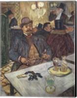 Framed M. Boileau au Cafe