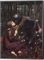 Framed La Belle Dame Sans Merci, c.1893