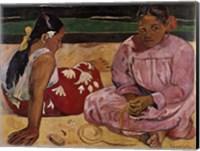 Framed Women of Tahiti
