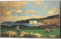Framed Vintage Golf - Golf In Northern Ireland