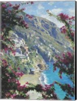 Framed Positano, The Amalfi Coast