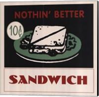 Framed Sandwich