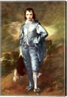 Framed Blue Boy