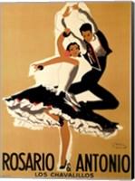 Framed Rosario & Antonio, 1949