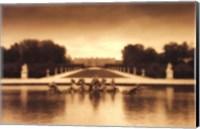 Framed Fountain of Apollo, Versailles