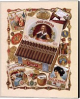 Framed Jose Pinero Cigars