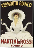 Framed Martini and Rossi