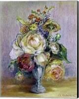 Framed Rose Panache