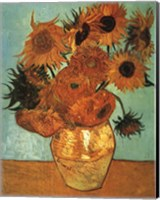 Framed Sunflowers No 2