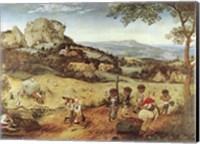 Framed Haymaking